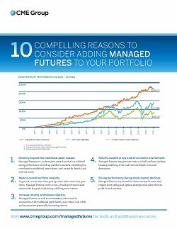 10 Compelling Reasons To Consider Adding Managed Futures To Your Portfolio